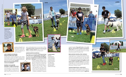 Rally Obedience Quattrozampe in fiera 2016